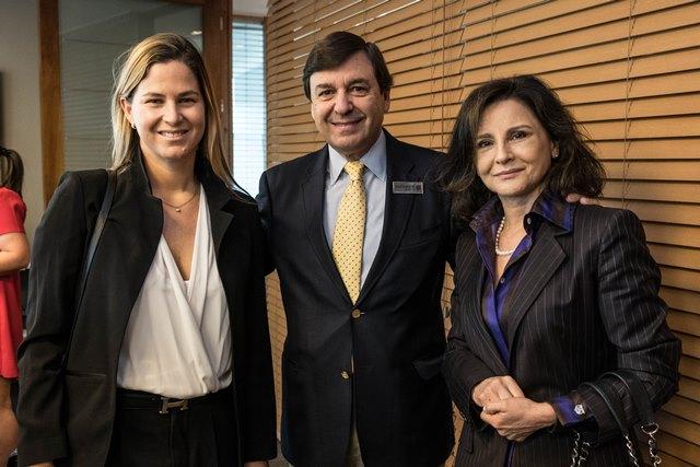 Constanza Briones, Rodrigo Velasco, Lía Fernandez