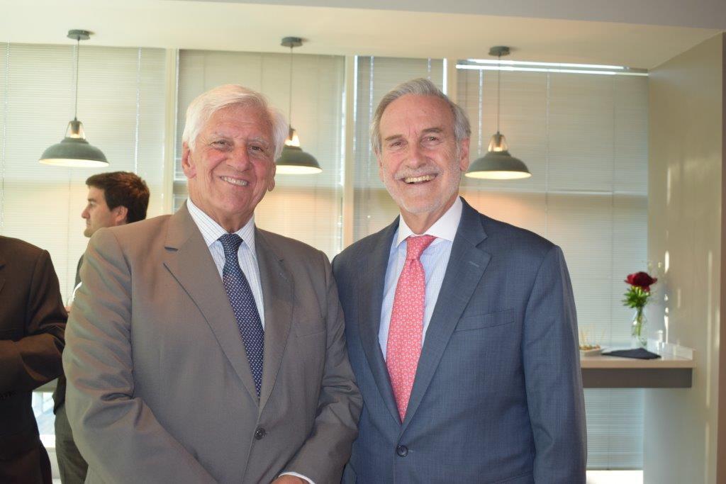 Raúl Torrealba y Arturo Alessandri Cohn
