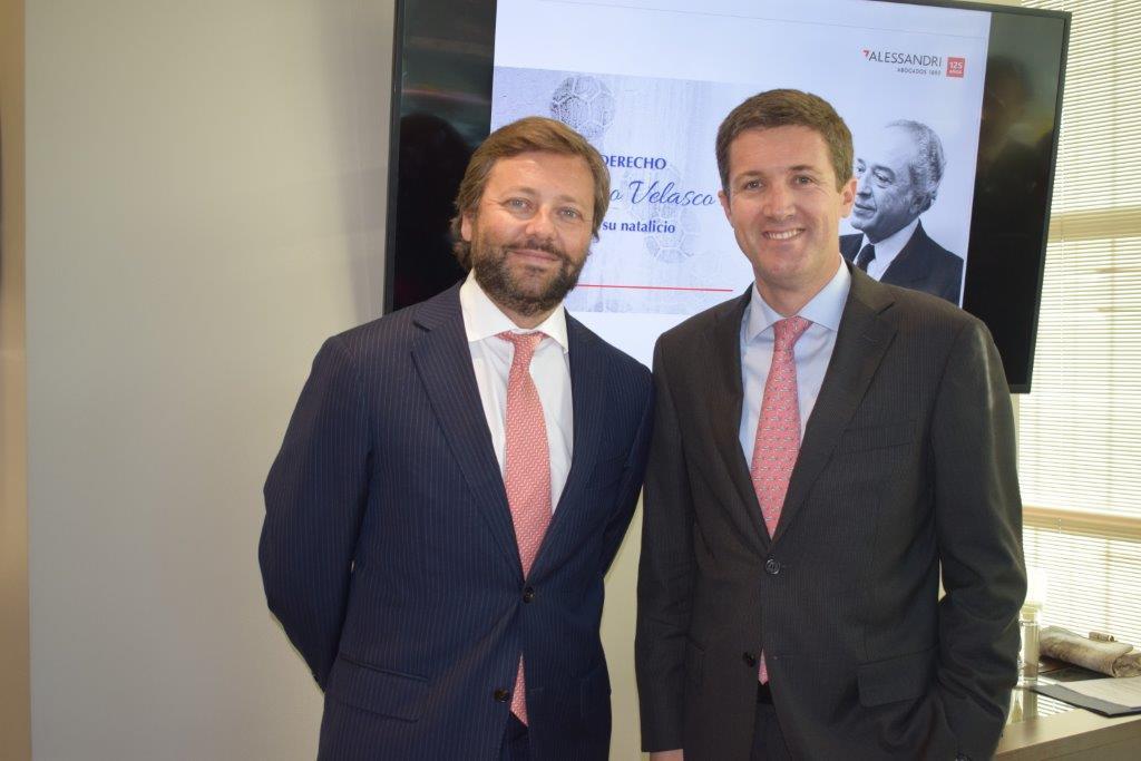 Cristián Pérez y Enrique Zenteno