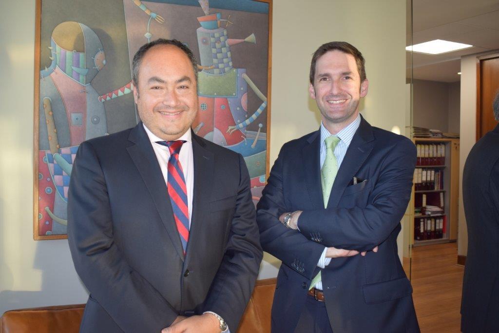 Rodrigo Urzúa y José Antonio Velasco