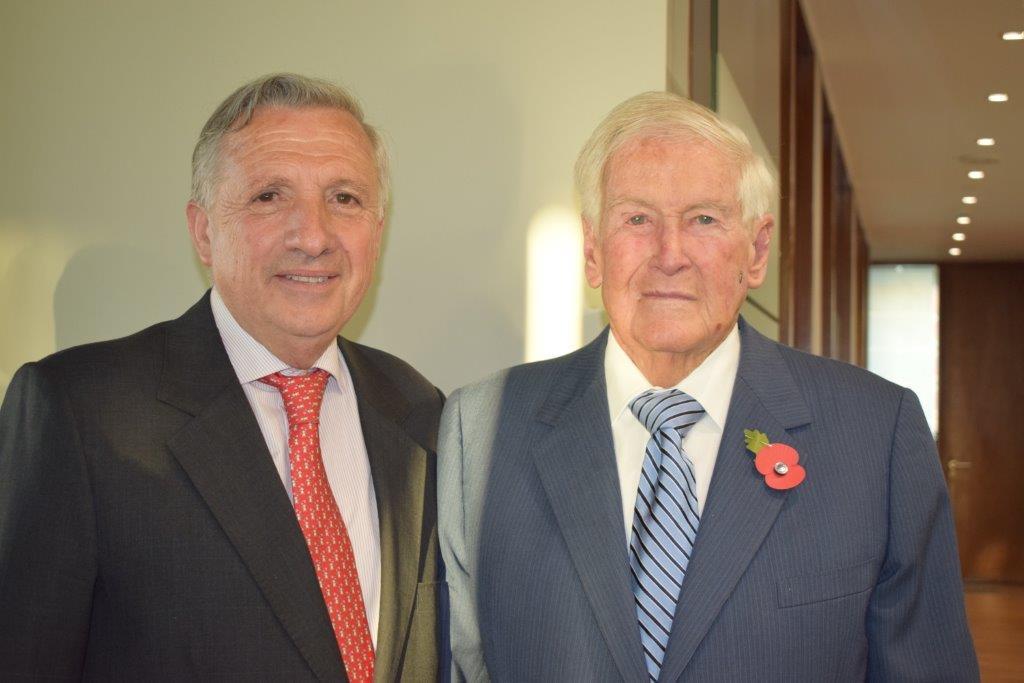 Enrique Zenteno y Arturo Alessandri Besa
