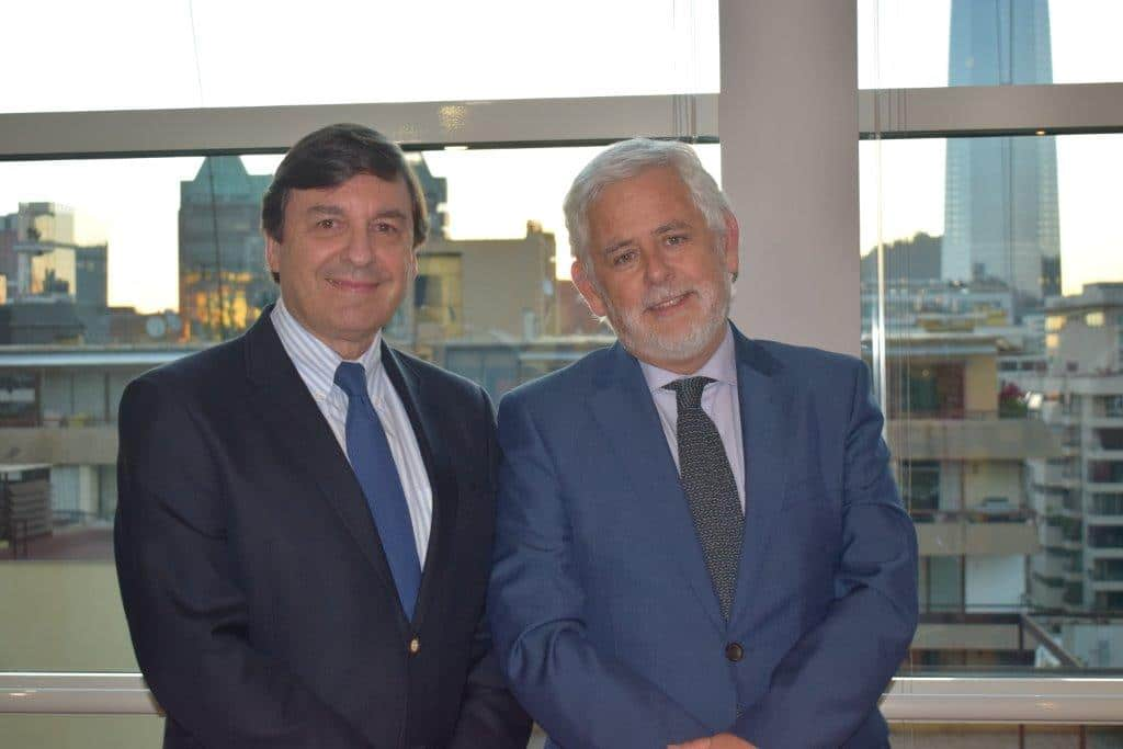 Rodrigo Velasco Santelices y Nicolás Vergara