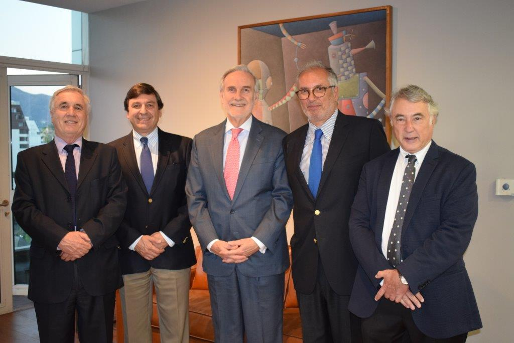 Álvaro Varela, Rodrigo Velasco Santelices, Arturo Alessandri Cohn, Cristián Quinzio y Edgar Bogolasky